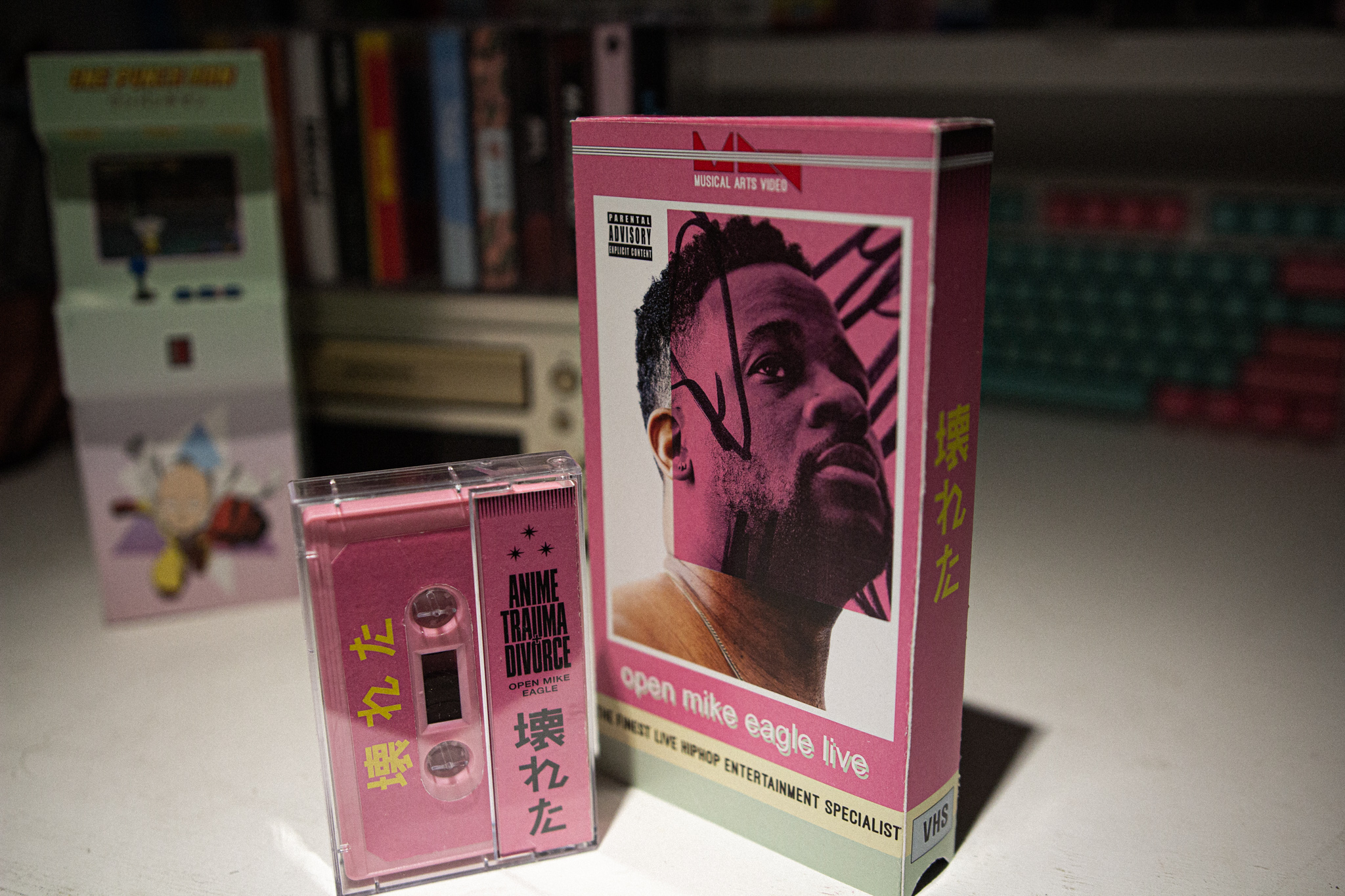 Open Mike Eagle VHS and Cassette
